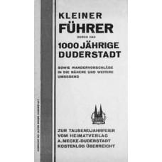 Kleiner Führer durch das 1000jährige Duderstadt