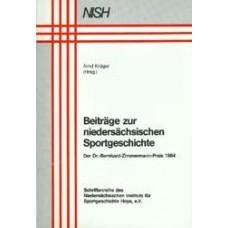 Beiträge zur niedersächsichen Sportgeschichte