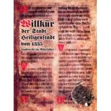 Willkür der Stadt Heiligenstadt von 1335
