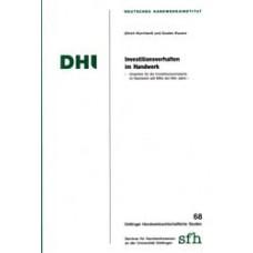 Investitionsverhalten im Handwerk
