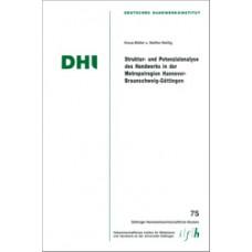 Struktur- und Potenzialanalyse des Handwerks in der Metropolregion Hannover-Braunschweig-Göttingen