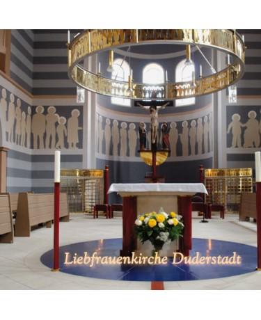 Die umgestaltete Liebfrauenkirche in Duderstadt