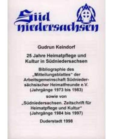 25 Jahre Heimatpflege und Kultur in Südniedersachsen