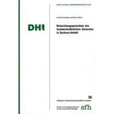 Entwicklungspotentiale des handwerksähnlichen Gewerbes in Sachsen-Anhalt