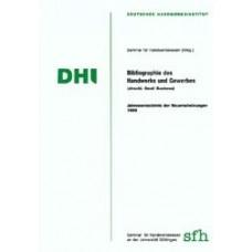 Bibliographie des Handwerks und Gewerbes 1998 (einschl. Small Business)(Einschl. Small Business)Jahresverzeichnis der Neuerscheinungen 1998