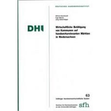 Wirtschaftliche Betätigung von Kommunen auf handwerksrelevanten Märkten in Niedersachsen
