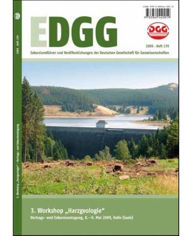 """3. Workshop """"Harzgeologie"""" - Vortrags- und Exkursionstagung, Halle (Saale), 8.-9. Mai 2009"""