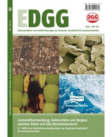 Landschaftsentwicklung, Bodenschätze und Bergbau zwischen Mulde und Elbe (Nordwestsachsen) - 27. Treffen des Arbeitskreises Bergbaufolgen der Deutschen Gesellschaft für Geowissenschaften