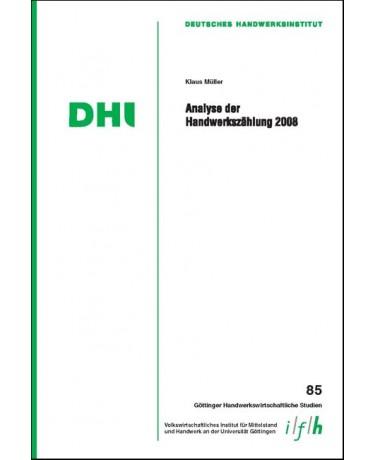 Analyse der Handwerkszählung 2008