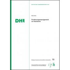Arbeitsheft 72: Forderungsmanagement im Handwerk