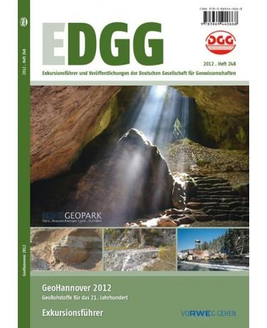 GeoHannover 2012 - GeoRohstoffe für das 21. Jahrhundert - Exkursionsführer – Hannover, 1. bis 3. Oktober 2012, October 1-3, 2012
