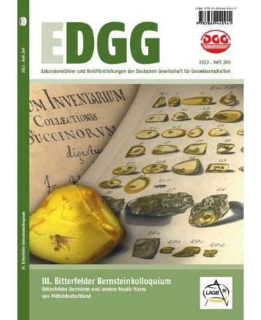 Bitterfelder Bernstein und andere fossile Harze aus Mitteldeutschland - III. Bitterfelder Bernsteinkolloquium