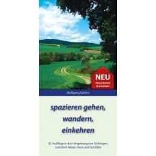 E-Book: spazieren gehen, wandern, einkehren - Band 1, 3. Auflage