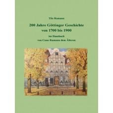 E-Book: 200 Jahre Göttinger Geschichte von 1700 bis 1900 im Hausbuch von Cuno Rumann dem Älteren: