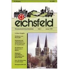Eichsfelder Heimatzeitschrift, Heft 1, Januar 1999