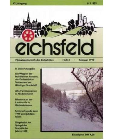 Eichsfelder Heimatzeitschrift, Heft 2, Februar 1999