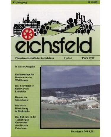 Eichsfelder Heimatzeitschrift, Heft 3, März 1999
