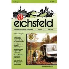 Eichsfelder Heimatzeitschrift, Heft 5, Mai 1999