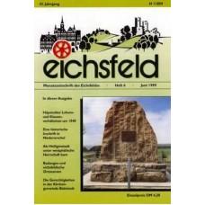 Eichsfelder Heimatzeitschrift, Heft 6, Juni 1999