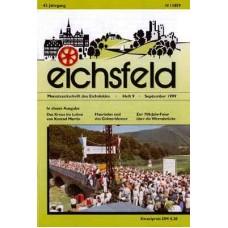 Eichsfelder Heimatzeitschrift, Heft 9, September 1999