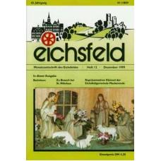 Eichsfelder Heimatzeitschrift, Heft 12, Dezember 1999