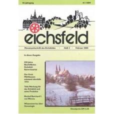 Eichsfelder Heimatzeitschrift, Heft 2, Februar 2000