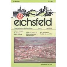 Eichsfelder Heimatzeitschrift, Heft 3, März 2000