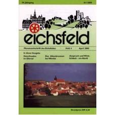 Eichsfelder Heimatzeitschrift, Heft 4, April 2000