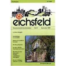 Eichsfelder Heimatzeitschrift, Heft 9, September 2000