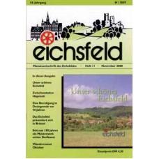 Eichsfelder Heimatzeitschrift, Heft 11, November 2000