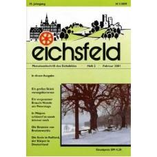 Eichsfelder Heimatzeitschrift, Heft 2, Februar 2001