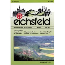 Eichsfelder Heimatzeitschrift, Heft 5, Mai 2001