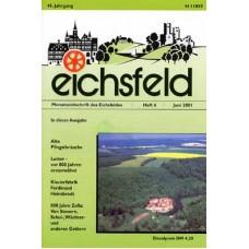 Eichsfelder Heimatzeitschrift, Heft 6, Juni 2001