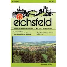 Eichsfelder Heimatzeitschrift, Heft 7/8, Juli/August 2001