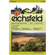 Eichsfelder Heimatzeitschrift, Heft 9, September 2001
