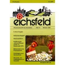 Eichsfelder Heimatzeitschrift, Heft 10, Oktober 2001