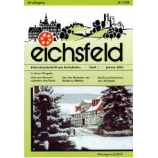 Eichsfelder Heimatzeitschrift, Heft 1, Januar 2002