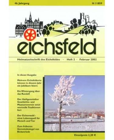 Eichsfelder Heimatzeitschrift, Heft 2, Februar 2002