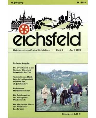 Eichsfelder Heimatzeitschrift, Heft 4, April 2002