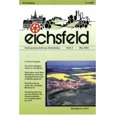 Eichsfelder Heimatzeitschrift, Heft 5, Mai 2002