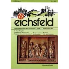 Eichsfelder Heimatzeitschrift, Heft 9, September 2002