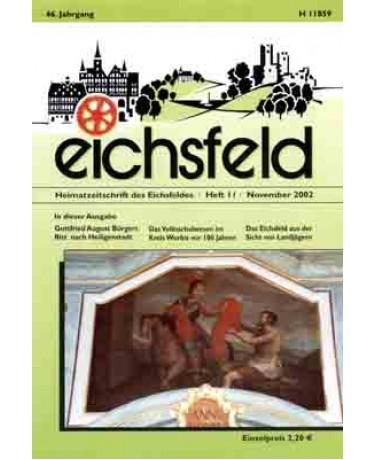 Eichsfelder Heimatzeitschrift, Heft 11, November 2002