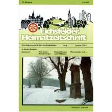 Eichsfelder Heimatzeitschrift, Heft 1, Januar 2003