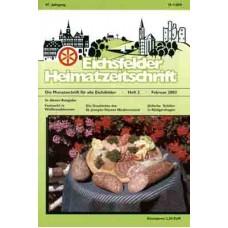 Eichsfelder Heimatzeitschrift, Heft 2, Februar 2003