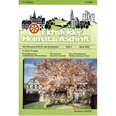 Eichsfelder Heimatzeitschrift, Heft 4, April 2003