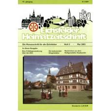Eichsfelder Heimatzeitschrift, Heft 5, Mai 2003