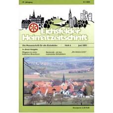 Eichsfelder Heimatzeitschrift, Heft 6, Juni 2003