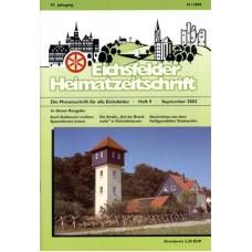 Eichsfelder Heimatzeitschrift, Heft 9, September 2003