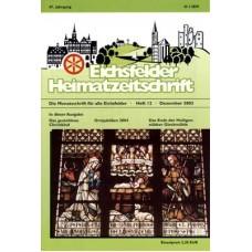 Eichsfelder Heimatzeitschrift, Heft 12, Dezember 2003