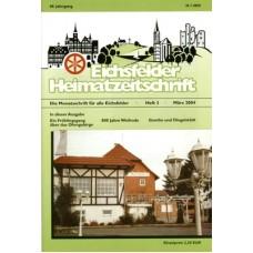 Eichsfelder Heimatzeitschrift, Heft 3, März 2004